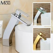 online get cheap gold bathroom faucets widespread aliexpress com