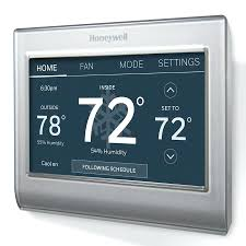 bluetooth thermostat bluetooth thermostat honeywell silver wi fi smart color with built
