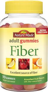 amazon com nature made fiber gummies 90 count health