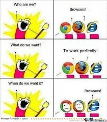 Who Are We Browsers Meme - who are we browsers by yellowbird2 meme center