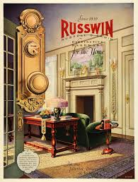 Vintage Home Interior Products by 1927 Ad Russwin Russell Erwin Hardware Home Interior Design Hare