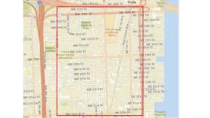 Miami Beach Zoning Map by Wynwood Map My Blog