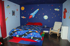 Fun Space Themed Bedrooms For Boys Rilane - Color for kids room