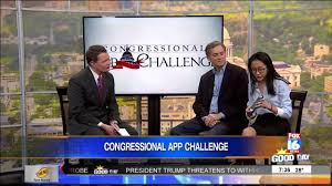 Challenge Fox News Fox News 16 Features Congressional App Challenge Winner Li