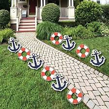 anchor baby shower decorations ahoy nautical baby shower decorations theme babyshowerstuff
