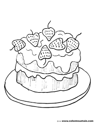 strawberry shortcake coloring pages to print strawberry cake coloring picture strawberry coloring pages