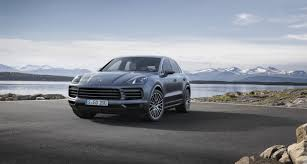 porsche car 2017 best suvs 2017 new porsche cayenne joins the lineup the week uk