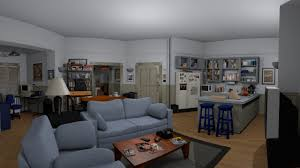 seinfeld apartment floor plan a tiny detailed replica of jerry seinfeld s apartment