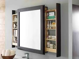 White Bathroom Mirror by Choosing Bathroom Mirror With Shelf Shape Materials And Color