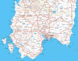 Sardinia Map Cagliari Map