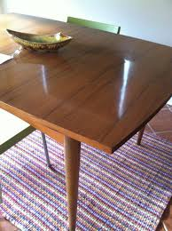 how to refinish veneer table is this a solid wood or veneer tabletop apartment therapy