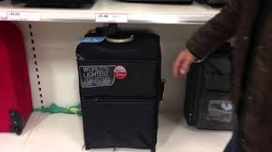 Suitcases The Newest World U0027s Lightest Suitcase Collection Youtube