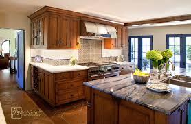 Colonial Kitchen Design Blue Colonial Kitchen Mediterranean 109335 Jpg 640 418