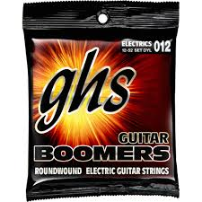 Light Guitar Strings by Ghs Dyl Light Boomers Wound 3rd Roundwound Electric Guitar Dyl