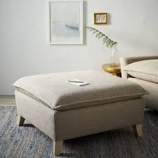 bliss down filled ottoman west elm