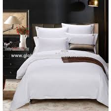 Linen Bedding Sets China Hotel Linen Bedding Sets 40s 40s 200t 100 Cotton Factory