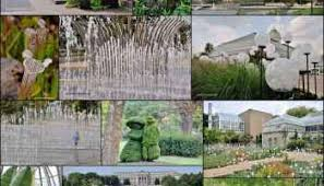 Columbus Topiary Garden - wandering the scioto mile in columbus ohio exploration vacation