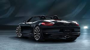 porsche convertible black porsche details 911 and boxster black editions in new photos