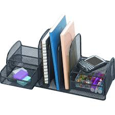 Black Wire Mesh Desk Accessories by Staples Rotating Desk Organizer Best Home Furniture Decoration