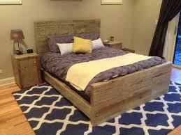 Modern Wood Bed Frame Distressed Wood Bedroom Sets Moncler Factory Outlets Com