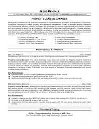Venture Capital Resume Pretentious Leasing Agent Resume 3 Leasing Manager Resume Ahoy