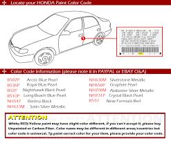 painted 08 12 for honda accord 8th 4dr sedan eur model rear roof
