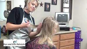 youtube young boys getting haircuts how to cut girl long hairstyles into short haircut tutorial