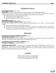 medical resume resume templates