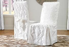 Accent Chair Slipcover Dining Chair Slipcovers Sure Fit Home Decor Throughout White