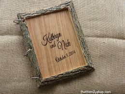 awesome rustic wedding guest books images style and ideas