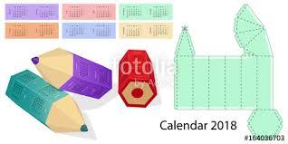 calendar 2018 twelve months weekend days highlighted box design
