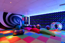 sand le mere opens sensory room for kids with autism adhd and
