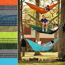 greenmall large size double camping hammock premium portable