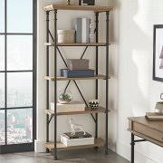 1 Shelf Bookcase Better Homes And Gardens River Crest 5 Shelf Bookcase Walmart Com