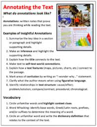 engage readers and increase comprehension annotate text scholastic
