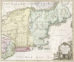 New England States Map by File 1716 Homann Map Of New England