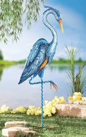 cania international pelican cast garden statue from