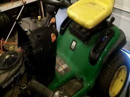 quick work on a john deere l120 tractor youtube