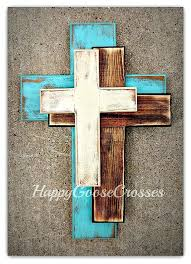 decorative crosses home decor decorative crosses home decor new offset in antiqued turquoise stain