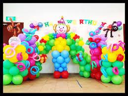 circus balloon circus theme balloon backdrop decoration singapore balloon