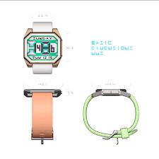 techcracks paper blade e paper watch concept by devindh