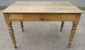 Victorian Satin Beech Farmhouse Kitchen Table - Beech kitchen table