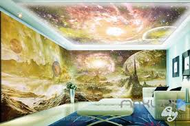 wallpaper for entire wall 3d planet surface space sky entire living room wallpaper wall mural