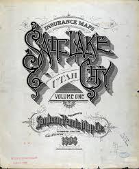 Salt Lake City Map Gimme Bar Sanborn Insurance Map Utah Salt Lake City 1898