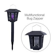 Outdoor Bug Lights by Amazon Com Yier Solar Powered Outdoor Insect Killer Bug Zapper