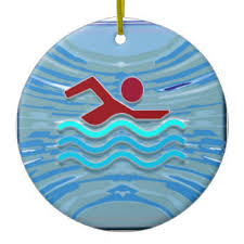 swimmer ornaments keepsake ornaments zazzle