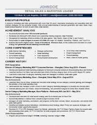 Resume Sample For Marketing Executive Marketing Executive Resume Samples Resume Sample 5 Senior Sales