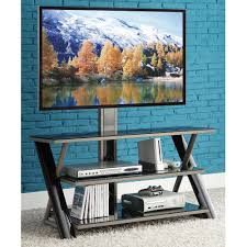 whalen 3 in 1 flat panel tv stand for tvs up to 50