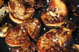 cuisiner du foie foie gras plancha la cuisine du soleil