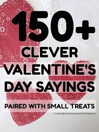 128 best s day ideas 150 clever valentines day sayings c r a f t